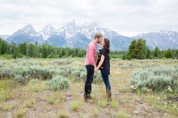 8 Grand Teton National Park Wyoming Engagement   Heather Erson Photography   Via MountainsideBride.com
