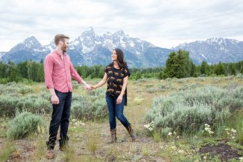 9 Grand Teton National Park Wyoming Engagement   Heather Erson Photography   Via MountainsideBride.com
