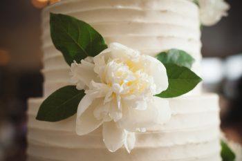 Buttercream wedding cake   Knoxville Wedding Hunter Valley Farm   JoPhoto   Via MountainsideBride.com