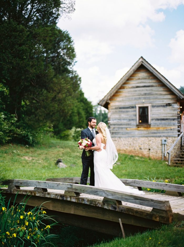 Portraits Pure Water Farm Wedding Tennessee | JoPhoto | Via MountainsideBride.com