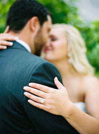 Kiss   Pure Water Farm Wedding Tennessee   JoPhoto   Via MountainsideBride.com