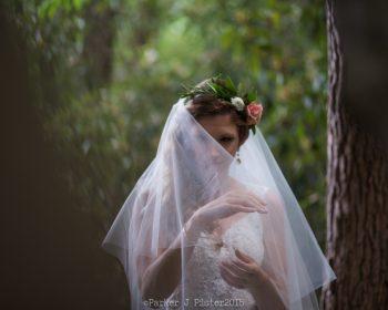 Woodland Bride NC Wedding | Parker J Pfister |via Mountainside Bride