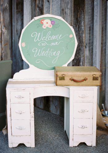 Wedding Welcome   Pure Water Farm Wedding Tennessee   JoPhoto   Via MountainsideBride.com