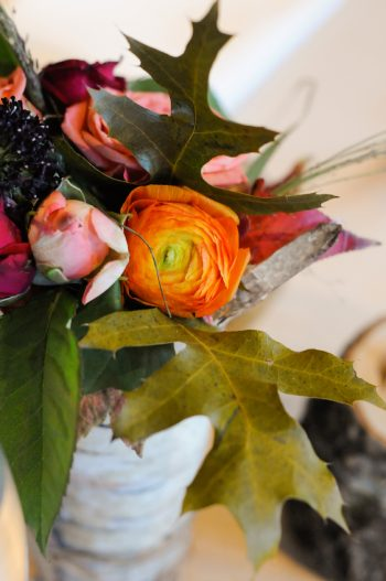 Fall Wedding Flowers Park City Wedding | Pepper Nix Photography | Via MountainsideBride.com
