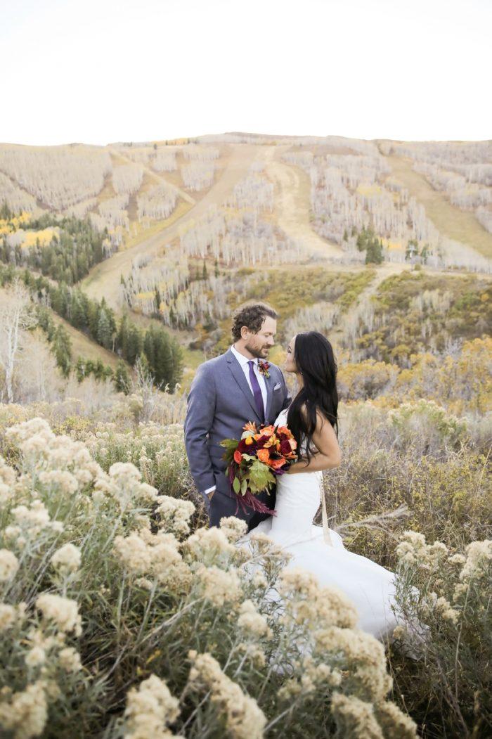 Park City Bride And Groom Park City Wedding | Pepper Nix Photography | Via MountainsideBride.com