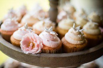 Cupcakes   Pure Water Farm Wedding Tennessee   JoPhoto   Via MountainsideBride.com