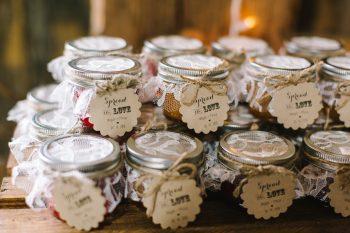 Jam Favors   Pure Water Farm Wedding Tennessee   JoPhoto   Via MountainsideBride.com