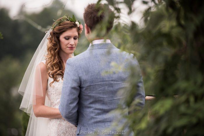Sawyer Farm Ceremony 3 Cashiers NC Wedding | Parker J Pfister |via Mountainside Bride