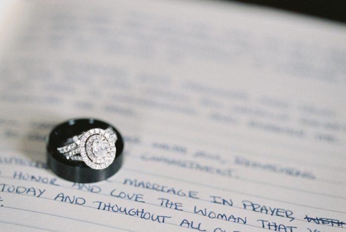 engagement ring | Knoxville Wedding Hunter Valley Farm | JoPhoto | Via MountainsideBride.com