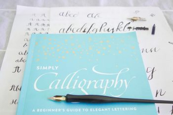 Cover Simply Calligraphy Review | Via MountainsideBride