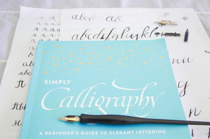 Cover Simply Calligraphy Review | Via MountainsideBride