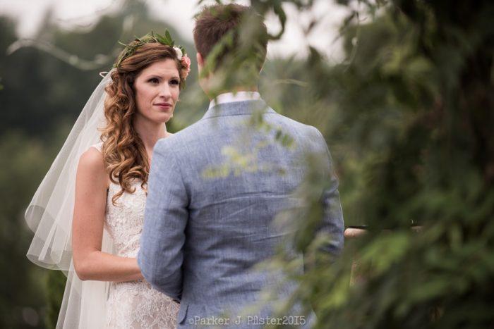 Sawyer Farm Ceremony 4 Cashiers NC Wedding | Parker J Pfister |via Mountainside Bride