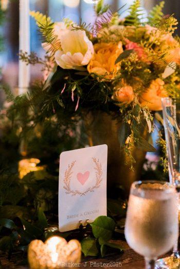 Place Settingflorals Cashiers NC Wedding | Parker J Pfister |via Mountainside Bride