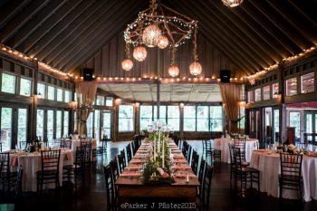Reception Florals Cashiers NC Wedding | Parker J Pfister |via Mountainside Bride