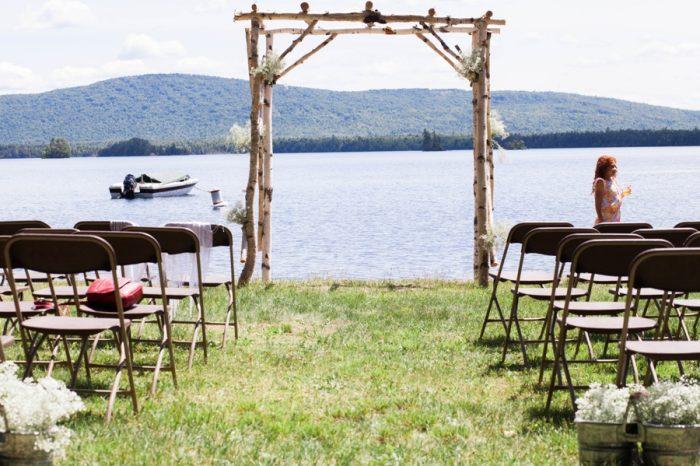 Main Lakeside Wedding | KAngell Photography | Via MountainsideBride.com