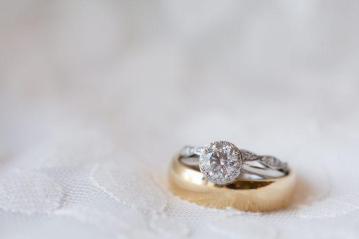 Round cut diamond ring | Pleasant Hill Vineyards |JoPhotos | Via MountainsideBride.com