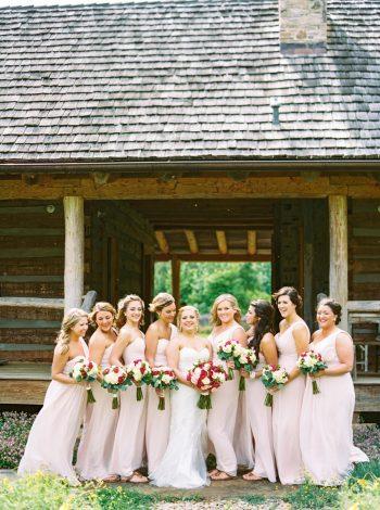 Bridesmaids Barn   Pure Water Farm Wedding Tennessee   JoPhoto   Via MountainsideBride.com