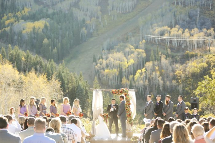Ceremony Park City Wedding | Pepper Nix Photography | Via MountainsideBride.com
