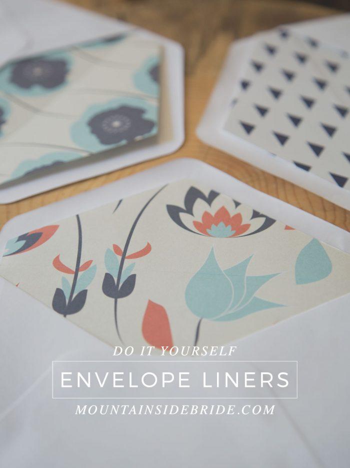 0 DIY Envelope Liners Title