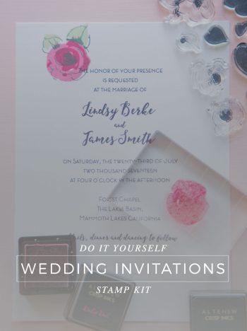 Altenew Diy Wedding Invitation Kit