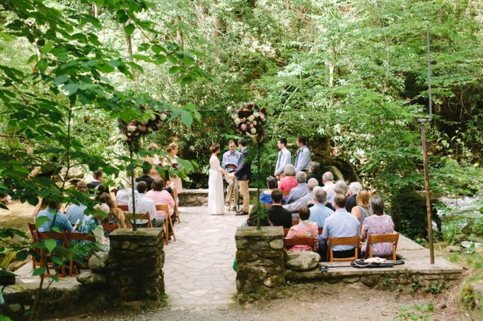 14 Spence Cabin Intimate Wedding   JoPhoto   Via MountainsideBride.com