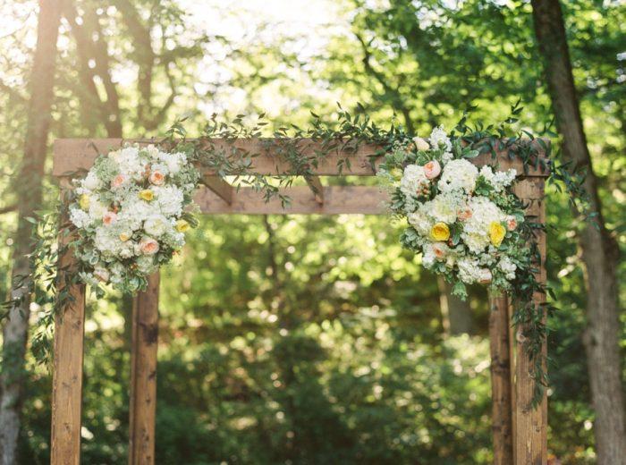 15 Ceremony Flowers Daras Garden Tennessee Wedding Jophoto Via Mountainsidebride Com