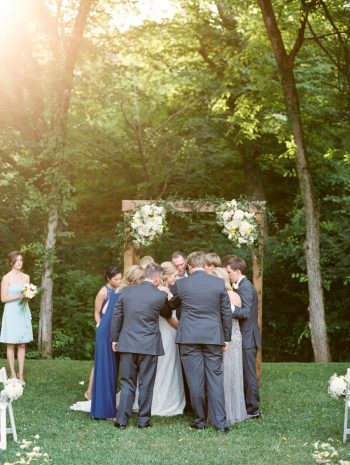 20 Ceremony Daras Garden Tennessee Wedding Jophoto Via Mountainsidebride Com