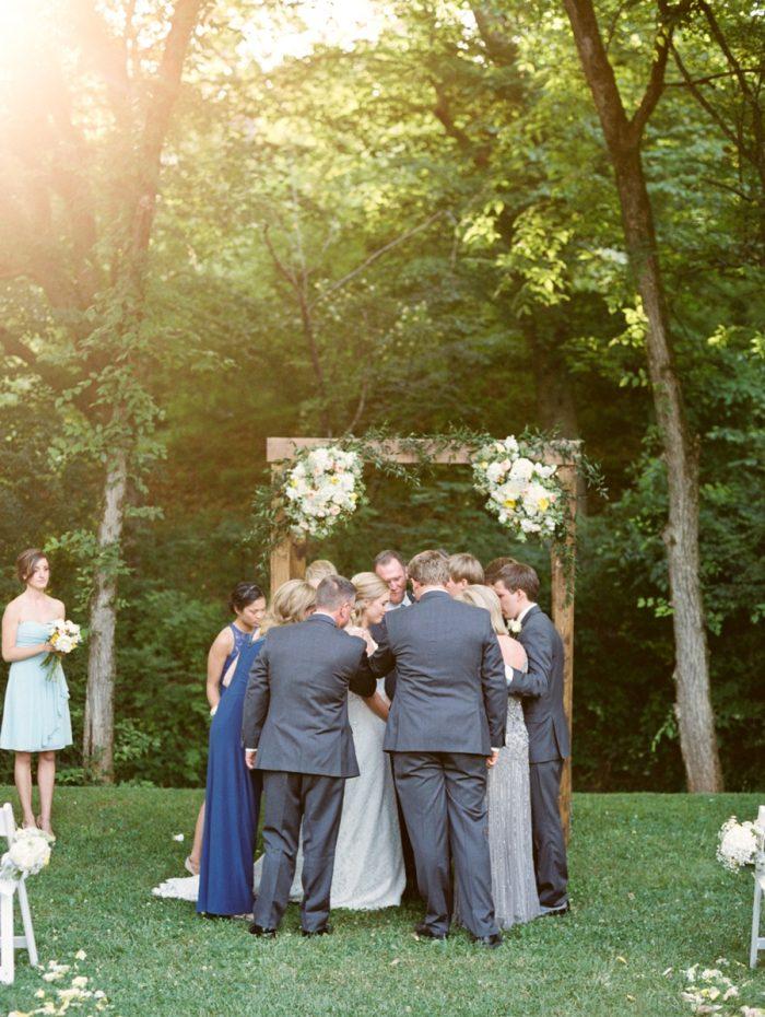 20 Ceremony Daras Garden Tennessee Wedding Jophoto Via Mountainsidebride Com