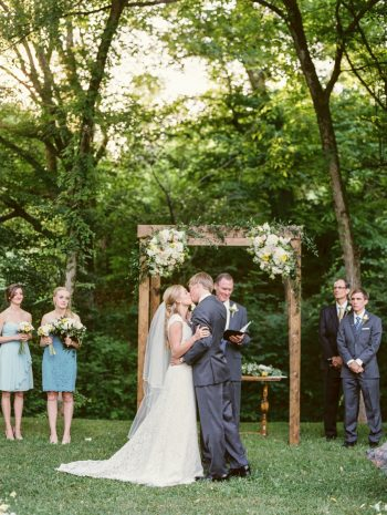 21 Ceremony Daras Garden Tennessee Wedding Jophoto Via Mountainsidebride Com