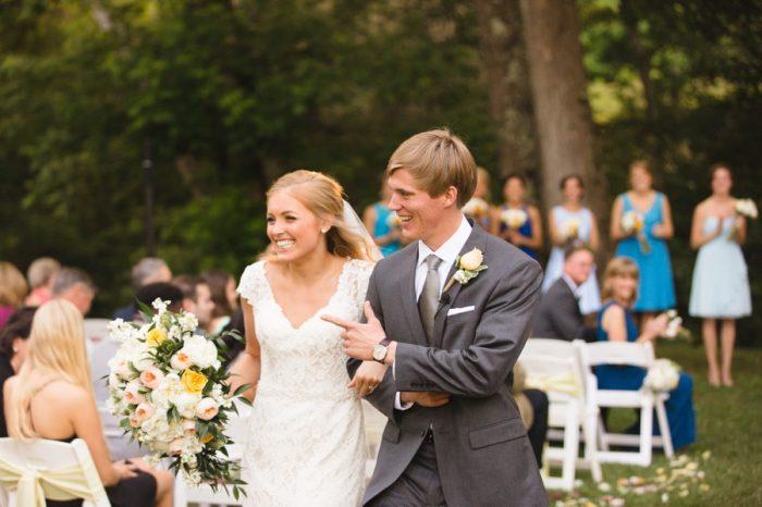 22 Ceremony Daras Garden Tennessee Wedding Jophoto Via Mountainsidebride Com