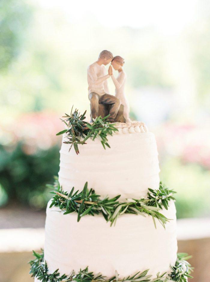 25 Wedding Cake Daras Garden Tennessee Wedding Jophoto Via Mountainsidebride Com