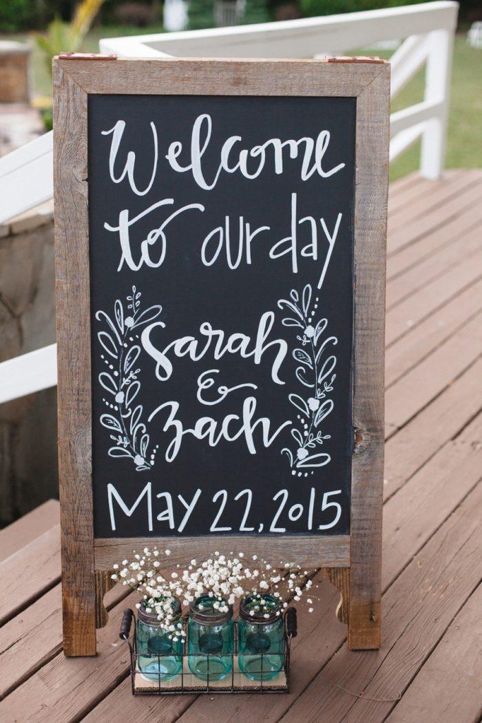 29 Wedding Sign Daras Garden Tennessee Wedding Jophoto Via Mountainsidebride Com