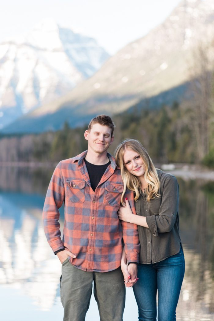 3 Montana Mountain Engagement Stella Kelsie Photography