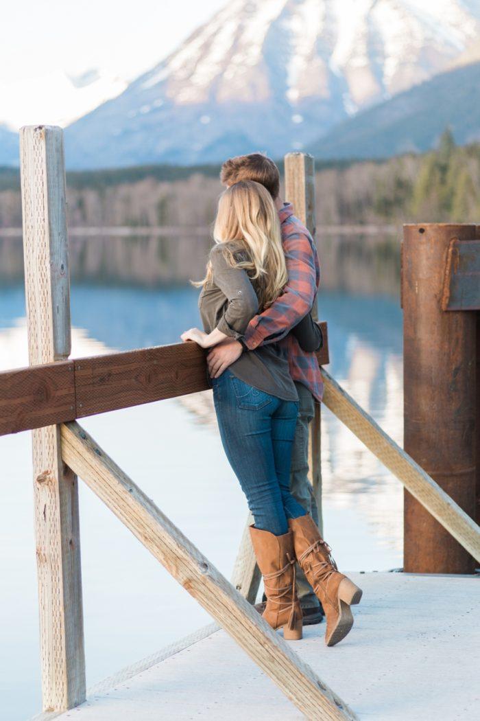 4 Montana Mountain Engagement Stella Kelsie Photography