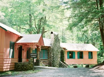 4 Spence Cabin Rennessee Wedding Johoho Via Mountainsidebride Com