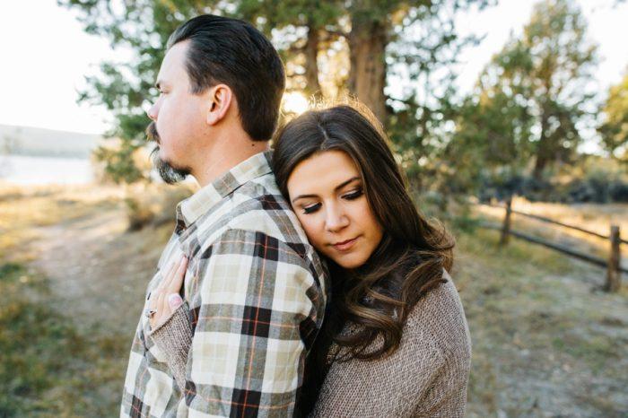 5 Big Bear Fall Engagement Brittney Hannon Photography.