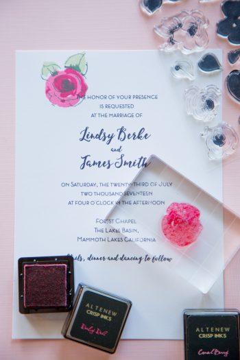 5 Altenew Diy Wedding Invitation Kit