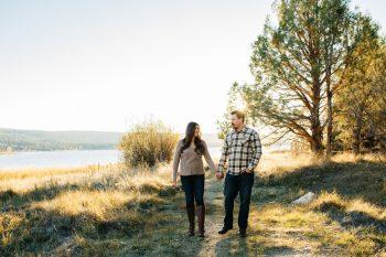 6 Big Bear Fall Engagement Brittney Hannon Photography.