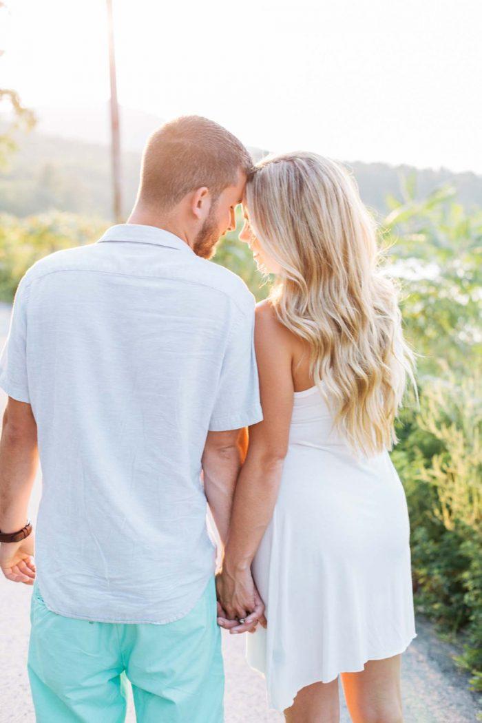 Catskill Engagement On Cooper Lake | Samantha Lauren Photographie. | Via Mountainside Bride