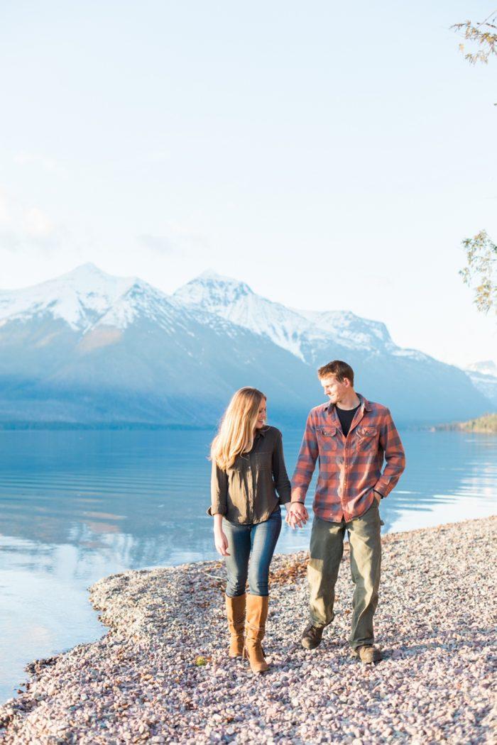 6 Montana Mountain Engagement Stella Kelsie Photography