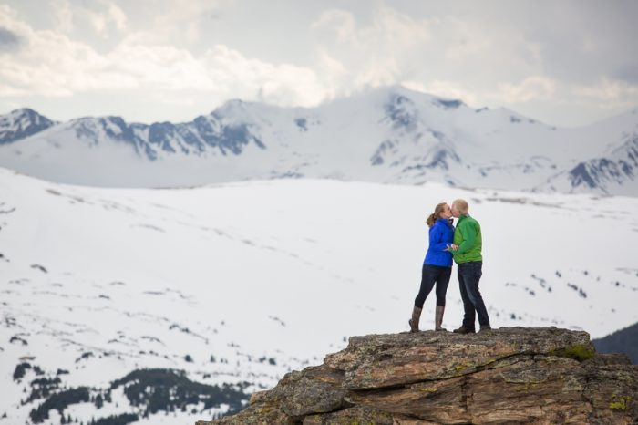 Rocky Mountain National Park Alpine Engagement