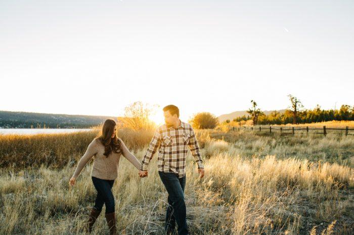 7 Big Bear Fall Engagement Brittney Hannon Photography.