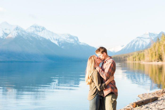 7 Montana Mountain Engagement Stella Kelsie Photography