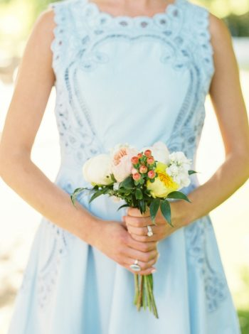 7 Bridesmaid Bouquet Daras Garden Tennessee Wedding Jophoto Via Mountainsidebride Com