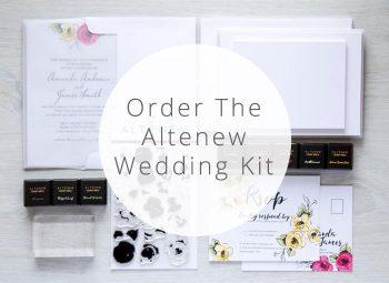 Click to Order the Altenew Wedding Kit