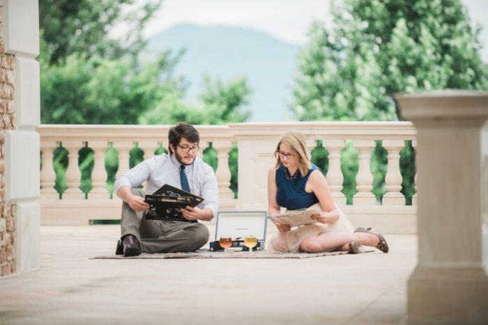 22 Suprise Proposal Mount Juliet Vineyard Virginia 3 Cats Photo Via Mountainsidebride Com