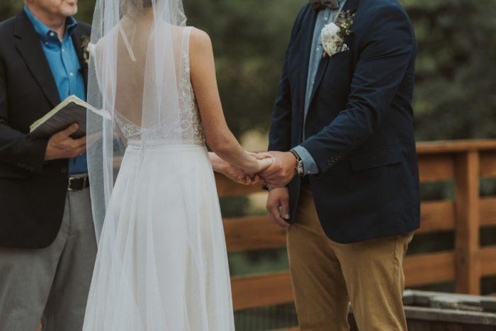 Ceremony Manitou Springs Colorado Wedding Becca Bloodsworth Via Mountainsidebride Com