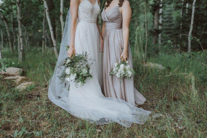 Bridesmaids Gowns Manitou Springs Colorado Wedding Becca Bloodsworth Via Mountainsidebride Com