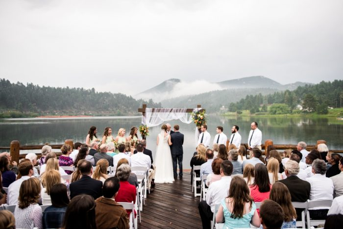 18 Colorado Wedding At Evergreen Lakehouse Elizabeth Ann Photography Via MountainsideBride.com