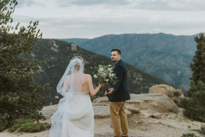 Portraits Manitou Springs Colorado Wedding Becca Bloodsworth Via Mountainsidebride Com